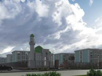 Строительство мечети на территории